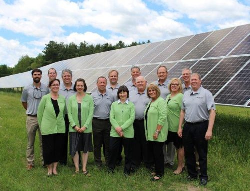 Officials Celebrate Northern Michigan's Largest Solar Array
