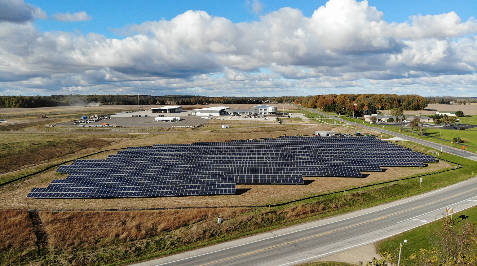 Cassopolis solar array